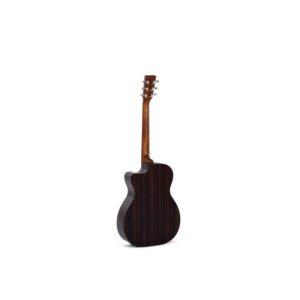 sigma o o o t c e acoustic guitar rear view