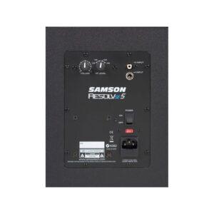 Samson Resolv SE5 Studio Reference Monitor rear view