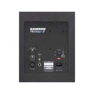 Samson Resolv SE8 Studio Reference Monitor rear view