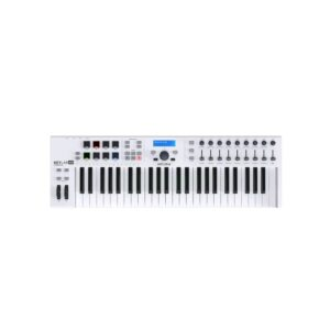 Arturia Keylab 49 essentials white front view