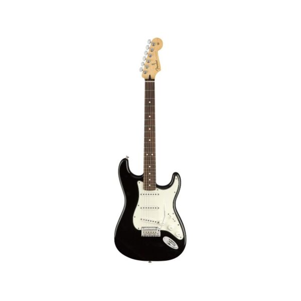 MEXICAN STANDARD STRATOCASTER black front