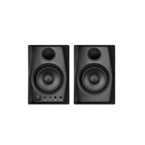 gibbon air black studio monitor front view